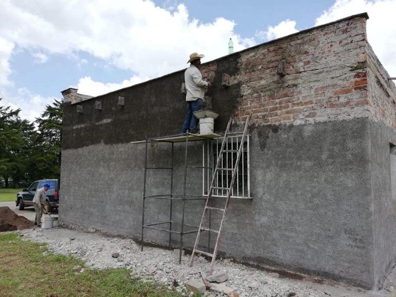 Rehabilitación de la Escuela Primaria José Ma. Morelos de la comunidad de la Arena
