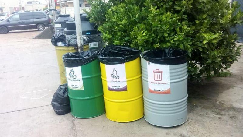 Presidencia da inicio a la cultura de separación de basura