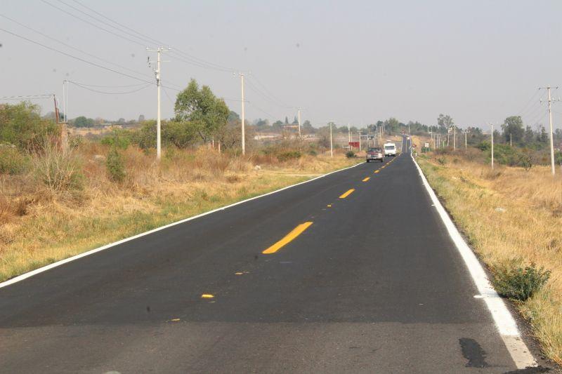 Nivelación y Reencarpetado del Tramo carretero El Pastor San José de Gracia